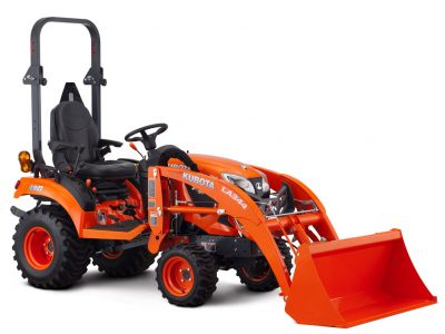 Kubota BX series company tractor model BX1880 with loader