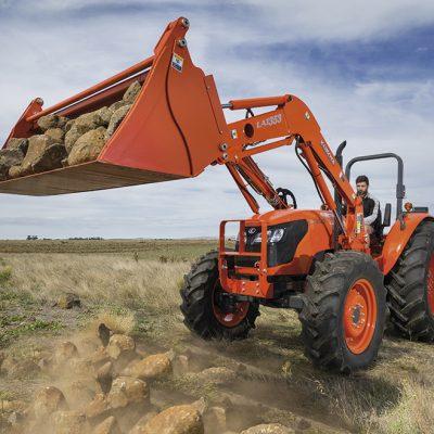 M series tractor mid range