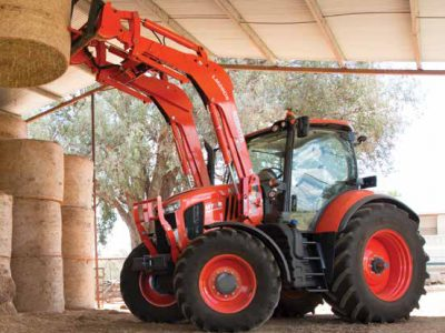 M7 high horsepower Kubota tractor with loader